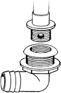 TH Marine TH1890T Livewell Drain 1 1/8 In Low Th-
