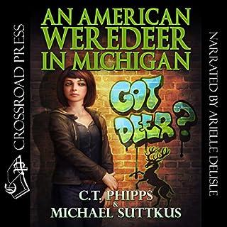 An American Weredeer in Michigan audiobook cover art