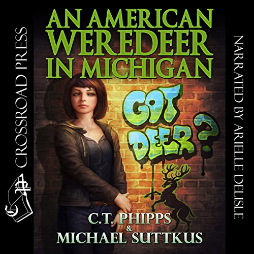 An American Weredeer in Michigan audiobook cover art