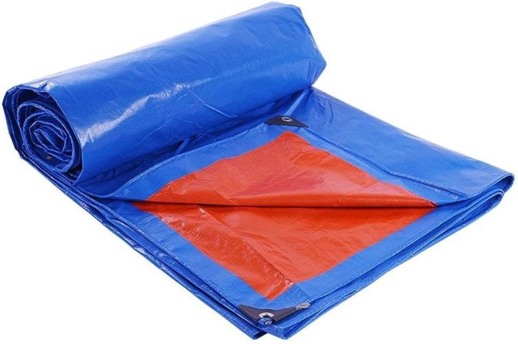 Auvent extérieur Rouge de bache de Toile de Tente de Tente imperméable de bache Rouge Bleu
