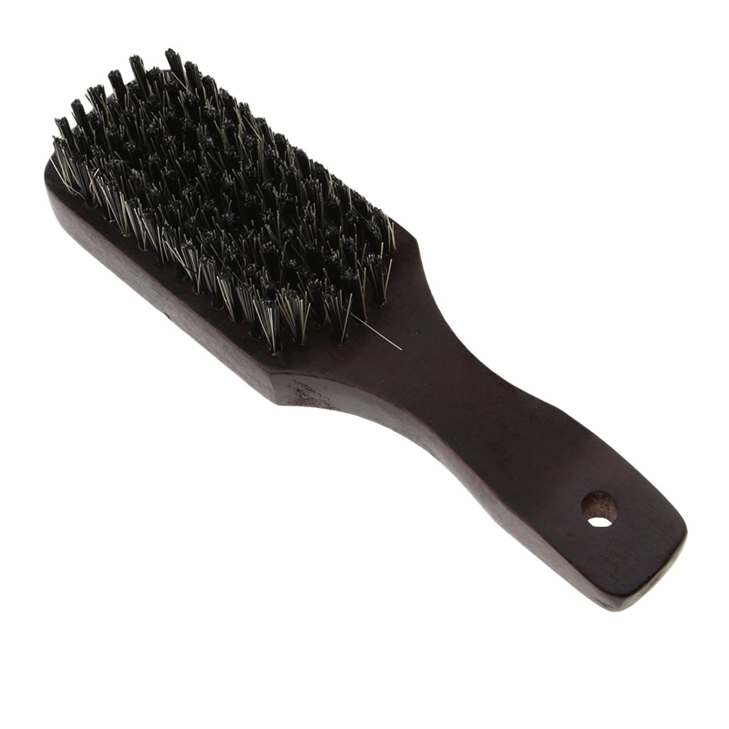 によって創始者南アメリカPerfeclan ナチュラルビアブラシ 男性 剛毛ブラシ ひげ 口ひげ 木製櫛