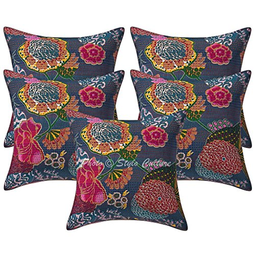 Made in Harlequin Kanjiro Abstract Imprimé Tissu Housse De Coussin Pour 18 in Pad environ 45.72 cm