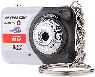 Andoer X6 Portable Ultra Mini HD Cámara Digital Mini DV Apoyo 32GB TF Tarjeta con Micrófono