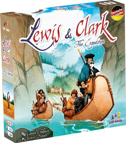 Heidelberger HE567 - Lewis und Clark, Brettspiel, Deutsche Version by Heidelberger Spieleverlag