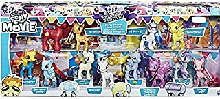 My Little Pony The Movie Friendship Festival Party Friends Exclusive Figure 12-Pack with Derpy Hooves