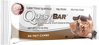 New Quest Delectable Dessert Variety Pack - 12 Count (3 of each flavor): Oatmeal Chocolate Chip, Blueberry Muffin, Chocola...