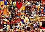 Murosn Puzzle Adulto 1000 Piezas Toy 3Años 3D Juegos Gallo de cervez