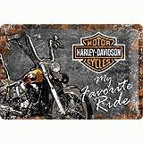 Nostalgic-Art Retro Blechschild, Harley-Davidson –