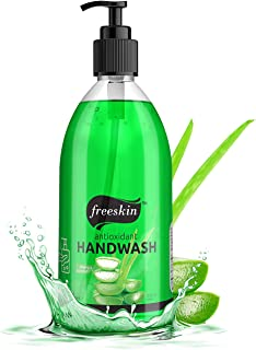 Freeskin Aloevera Hand Wash Gel - 500ml | Nourishing Natural Ingredients Cleans Skin Without Dryness | Gently Removes Dirt...