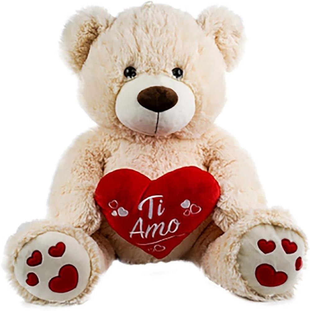 Spupazzosi,san valentino, orso con cuore ti amo