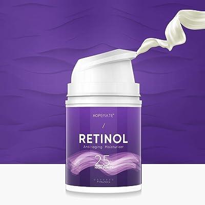 HOPEMATE Premium Retinol Cream, Anti-Aging Mois...