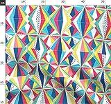 Zirkus, Geometrisch Stoffe - Individuell Bedruckt von