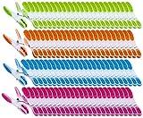 PEARL Wäscheklammer Sets: Wäscheklammern mit Soft-Grip