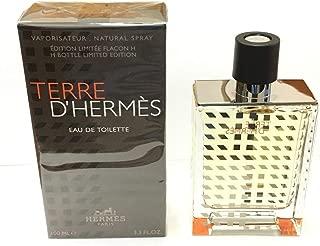 Terre D'Hermes By Hermes Flacon H Bottle Limited Edition 2019 3.3 oz 100 ml Eau De Toilette Spray for Men