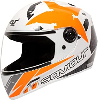 saviour motorbike helmet gtx crona full face (ORANGE)