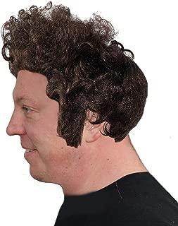 Men's Kramer bob Dylan Brown Curly Men's Wig