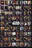1art1 54190 Star Wars - Compilation Poster 91 x 61 cm
