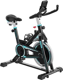 2WD Bicicletas Estáticas Resistencia Ajustable con Pantalla