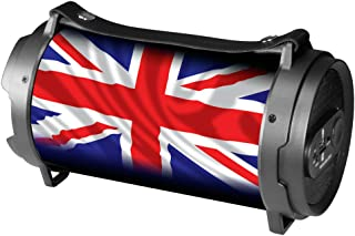 Xtreme Boombox UK Flag Bluetooth Loudspeaker, Black