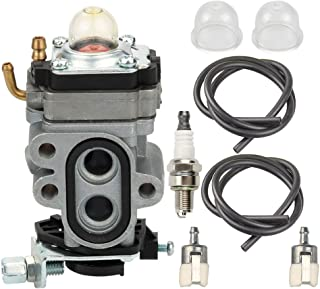 Butom WYA-1-1 Carburetor with Fuel Filter Spark Plug for Redmax BCZ3060TS EZ25005 BCZ2400S BCZ2500 GZ25N23 GZ25N14 BCZ2600S BCZ2600SU BCZ2600SW BCZ2500S BCZ2460S BCZ2600 Trimmer Brush Cutter Blower