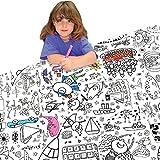 Tischdecke zum Ausmalen für Kinder