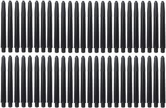 RoseSummer 100 pcs of Nylon Dart Shafts Stems Medium 48mm 2BA Screw Thread Durable Dart Rod