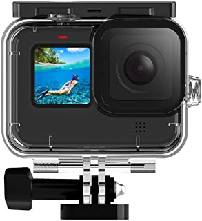 FINEST+ 45m Waterproof Housing Case for GoPro Hero 9 Black Diving Protective Housing Shell with Bracket Accessories for Go...