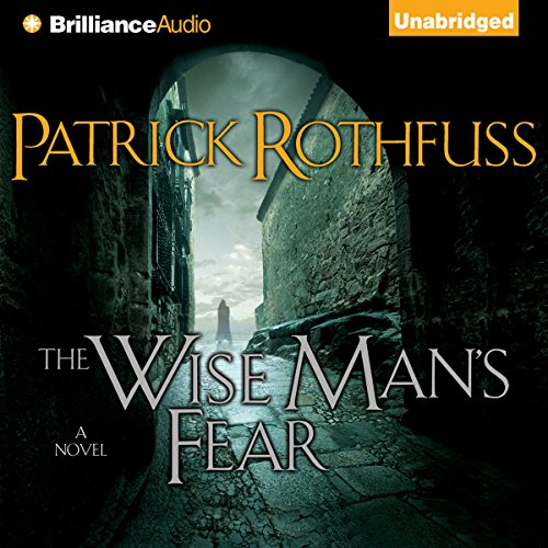 The Wise Man's Fear audiobook cover art