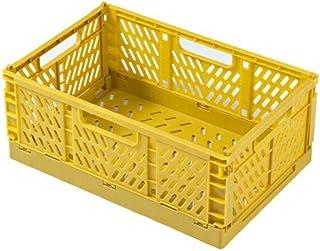 WJCRYPD 30pcs Pliage Pliage Stockage Conteneur Panier Crate Boîte Stack Grand Boîte D'exposition De L'organisateur Pliable...