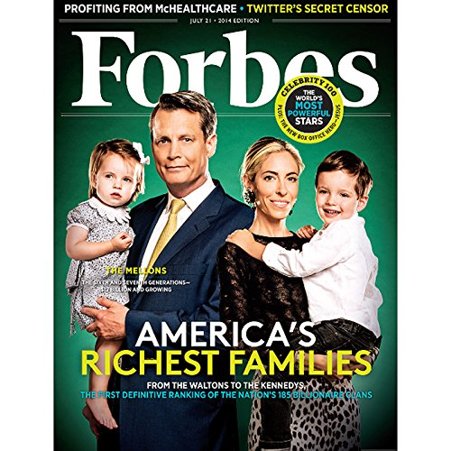 Forbes, July 14, 2014 audiobook cover art