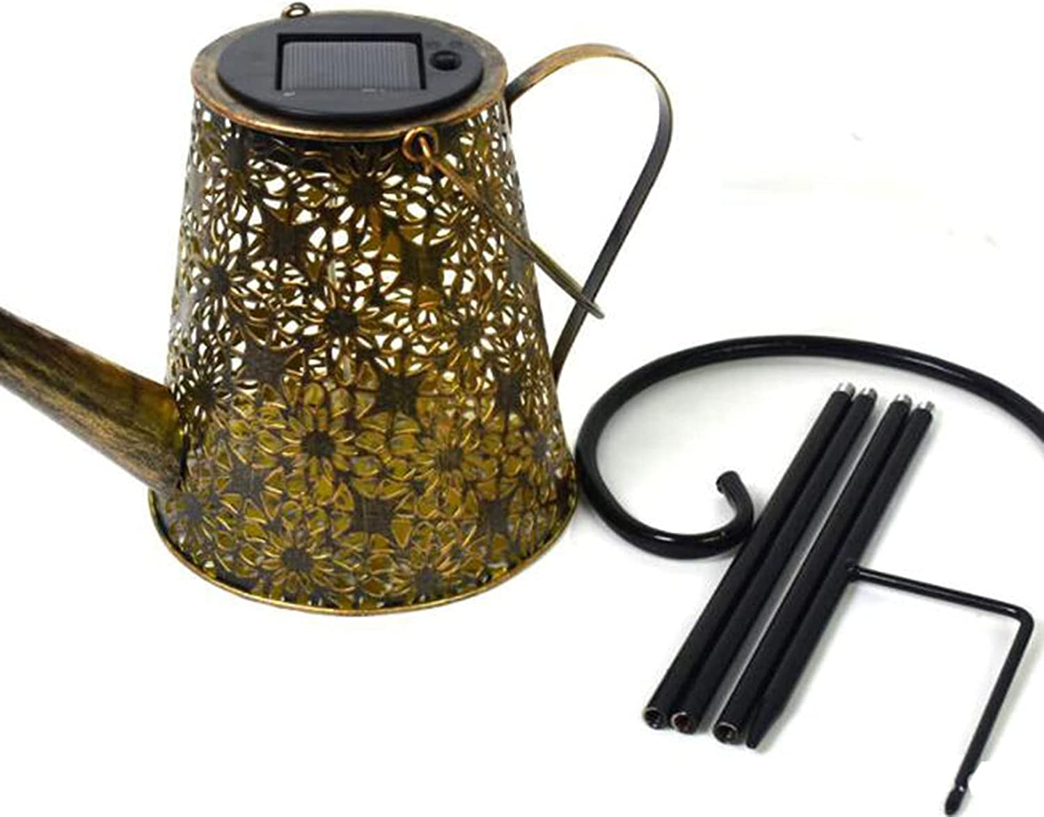 Luxury fgfg Solar Watering Can with Outdoor NEW before selling Waterproof Hanging Lights