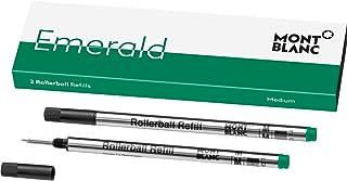 Montblanc wkład kulkowy do długopisu kulkowego Emerald Green 118127 – szmaragdowy zielony wkład zamienny do długopisu i ci...