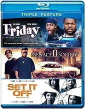 Friday & Menace Ii Society & Set It Off [Edizione: Stati Uniti] [Reino Unido] [Blu-ray]
