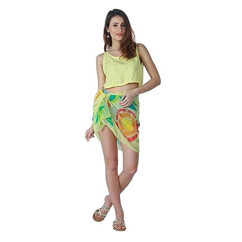 43b0d5650c Emazing Deals Women's Beautiful Beach Wear Sarong, Pareo, Wrap Swimsuit  Cover Up (emzpareoprint