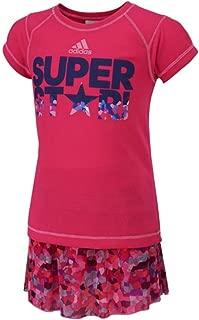 Girls Sport Performance Toddler 2PC Set (2T, (04) Medium Pink)