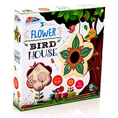 Make Your Own Wooden Flower Birdhouse from Grafix