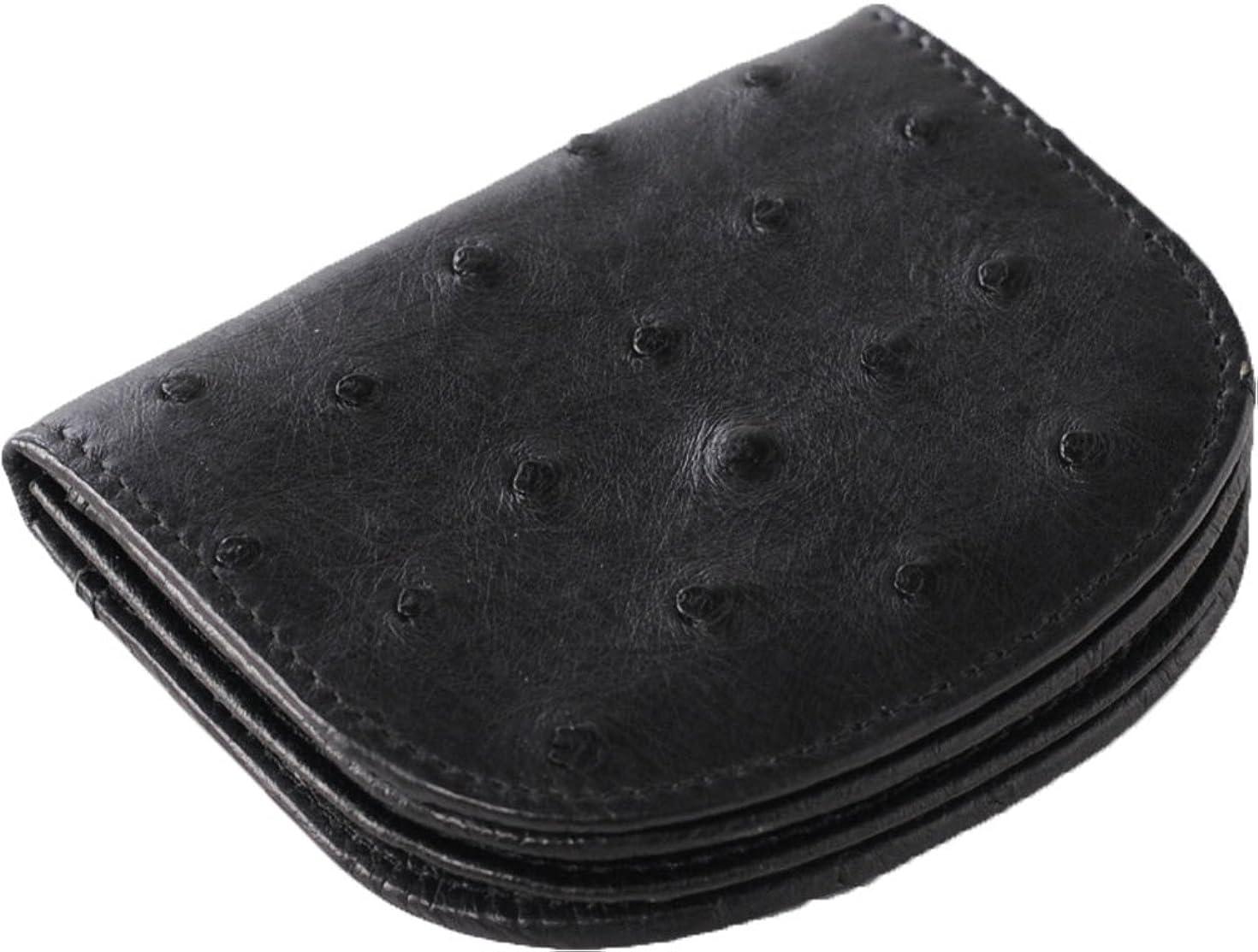 対処昇るちっちゃいオーストリッチ 小銭入れ 馬蹄型 ミニ財布 レディース