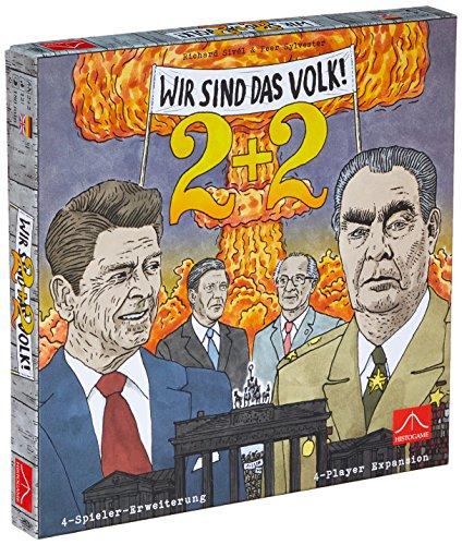 Preisvergleich Produktbild Histogame Spieleverlag HIS01947 Wir Sind Das Volk 2+2: 4-Spieler-Erweiterung