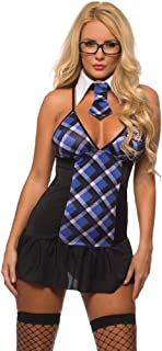 Sexy Extra Credit School Girl Costume for Women 8916