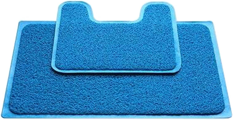 Eine Reihe von Rutschfeste PVC U-frmige Toilette Teppich Badematten Bad Teppich Mat, F B01N4QFUZJ       Genial Und Praktisch