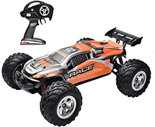 KELIWOW Remote Control Vehicle 1/12 Scale Waterproof RC Car,2.4GHz 4WD All Terrain Remote Control Car Offroad RC Monster Truck with Independent Suspension High Speed Racing Car