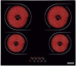 Cooktop Vitrocer New Square 4ev 60 Tramontina Preto 220v