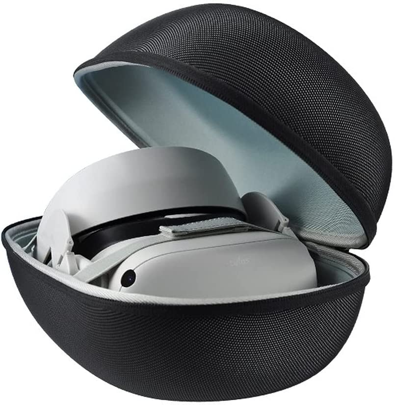 WEBETTER Heightened Storage Box for Oculus Quest 2, Hard Carrying case Storage Bag for Quest 2 Waterproof Protective case.
