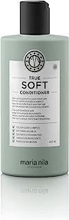Maria Nila True Soft Conditioner 300 ml - Minskar Frizz Samt Motverkar Statisk Elektricitet. 100% Veganskt. Sulfatfritt oc...