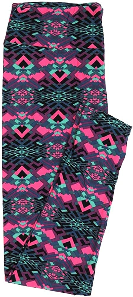 Lularoe Tall Curvy TC 70s Trippy Psychedelic Buttery Soft Womens Leggings fits Adults Sizes 12-18 TC-7352-J2