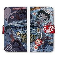 全10色 かわいい ベティー ブープ スマホケース 手帳型 デニムコレクション ジーンズ ベティーちゃん iPhone11 Pro 対応
