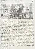 LA CONSTRUCTION MODERNE : 41 ANNEE - FASCICULE N°9 - 29 NOVEMBRE 1925 / CHARLES GARNIER ET L'OPERA - LE PAVILLON DU 'CLUB DES ARCHITECTES DIPLOMES' ...