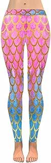 Funny Mermaid Cats Unicorns Pigs Stretchy Capri Leggings Skinny Yoga Pants Regular Plus Sizes 2XS-5XL
