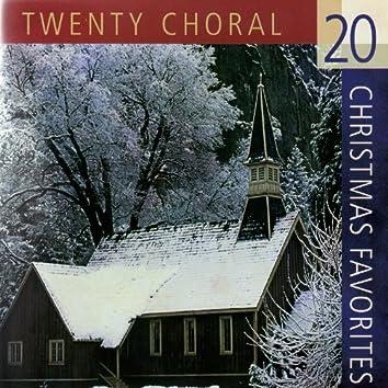 20 Choral Christmas Favorites