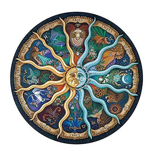 Zodiac Puzzle, 1000 Piezas Puzzle Juguetes para Niños Adultos Alivio del Estrés Decoración Decoración Jugar Desafío